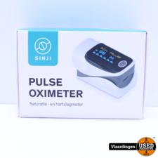 Sinji Pulse Oximeter Saturatie en Hartslagmeter  - Nieuw in Doos -