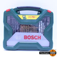 Bosch Bosch X-Line borenset - 70-delig - Titanium Plus Serie - Voor hout, metaal en steen - Nieuw -
