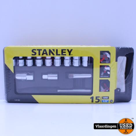 Stanley Dopsleutelset 1/2  - Nieuw -