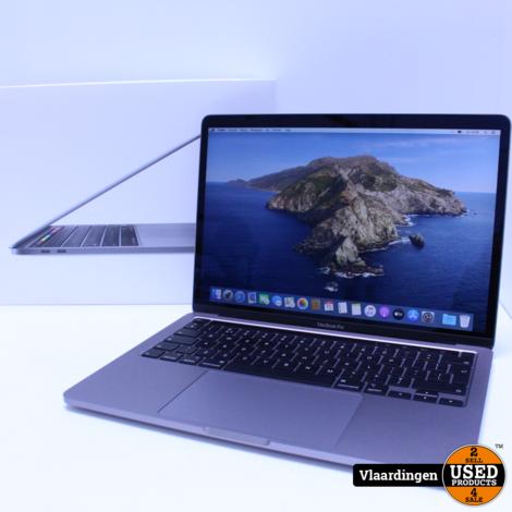 Apple MacBook Pro 13 2020 - i5 - 8GB - 256GB SSD  - TopStaat - Compleet in Doos - Met Apple Garantie