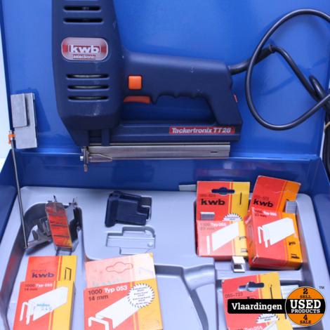 KWB Tacker - TT28 - In goede staat - In koffer-