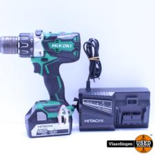 HIKOKI HiKOKI DS18DBL2 W2Z accu boor-schroefmachine 18V - brushless - 1 5Ah accu/lader  - Systainer -