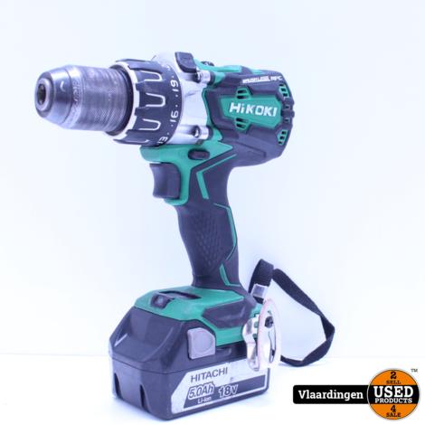 HiKOKI DS18DBL2 W2Z accu boor-schroefmachine 18V - brushless - 1 5Ah accu/lader  - Systainer -