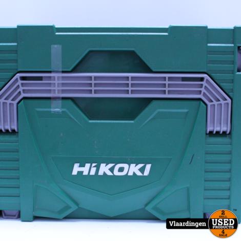 HiKOKI DH18DBL W2DZ Accu Boorhamer 18V - Brushless - 2 accu's/lader - Systainer - Stofafzuigunit -