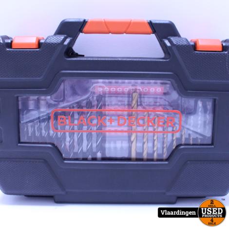 Black+Decker boren en bitset 104-delig A7230-XJ  - Nieuw in doos -