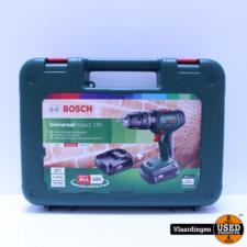 Bosch Bosch schroef- en klopboormachine UniversalImpact 18V *NIEUW IN KOFFER*