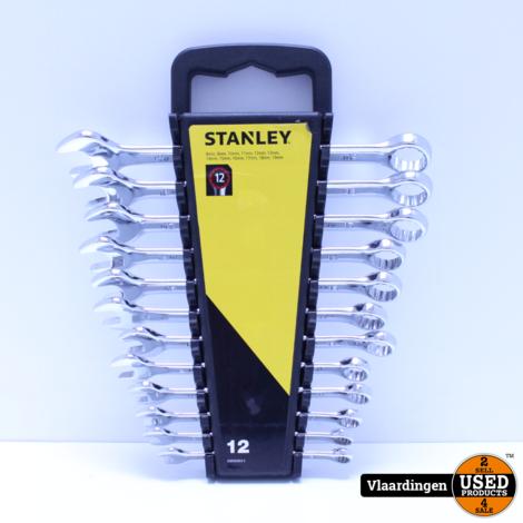 Stanley Steeksleutelset 12 Delig - Nieuw -