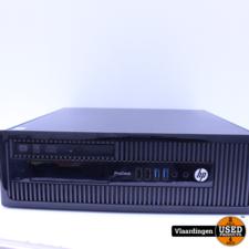HP HP ProDesk 400 G1 - Intel Core i3-4130 3,4Ghz - 4GB - 500GB HDD - DVD-RW - Met Garantie -