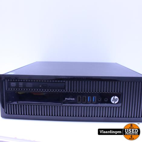 HP ProDesk 400 G1 - Intel Core i3-4130 3,4Ghz - 4GB - 500GB HDD - DVD-RW - Met Garantie -
