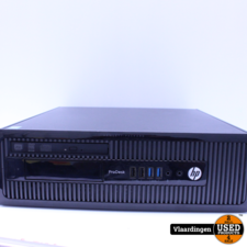 HP HP ProDesk 400 G1 - Intel Core i3-4130 3,4Ghz - 8GB - 1000GB HDD - DVD-RW - Met Garantie -