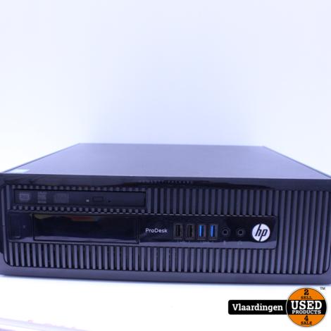 HP ProDesk 400 G1 - Intel Core i3-4130 3,4Ghz - 8GB - 1000GB HDD - DVD-RW - Met Garantie -