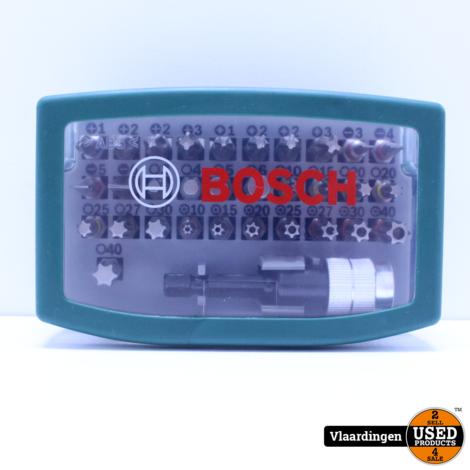 Bosch accessoire bitset - 32 delig - Met kleurcode - Nieuw -