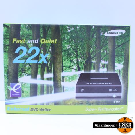 Samsung External DVD Writemaster SE-S224Q - Nieuw in Doos -