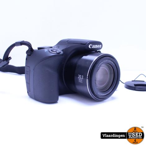 Canon PowerShot SX540 HS Wifi 20.3MP 50 Zoom incl Tripod / 32GB SD Kaart - Nieuwstaat - Met garantie -