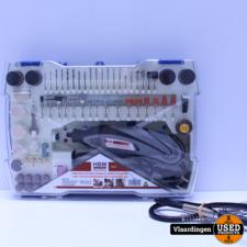 HBM Multifunctionele Hobbymachine met 190 Accessoires en Flexibele as - Nieuw -