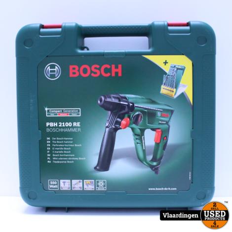 Bosch PBH 2100 RE - In Nieuwstaat - In koffer - Met Garantie -