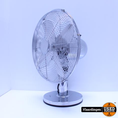Tafel Ventilator 30CM Chroom