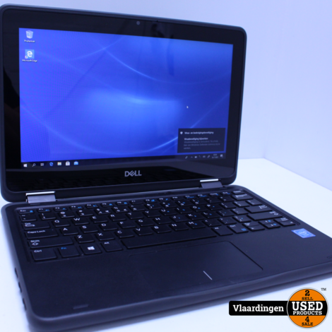 Dell Latiutude 3190 2 in 1 Touch Laptop/tablet  - 64GB - 4GB - In goede staat -