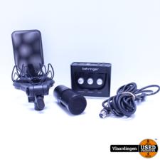 Audio Technica AT2020 XLR compleet met USB Audio Interface / Rode Houder