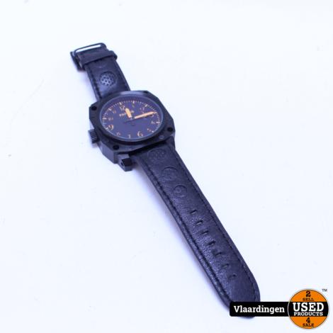 Parnis Hand Winding Heren Horloge - In Top Staat -