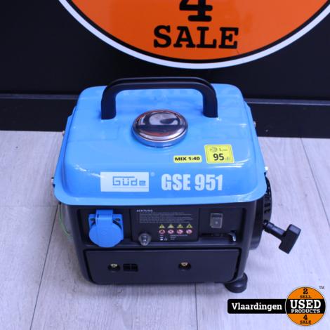 Güde GSE 951 2-Takt Benzine Generator 720 W | Aggegraat | 1,5 PK  - Nieuwstaat -