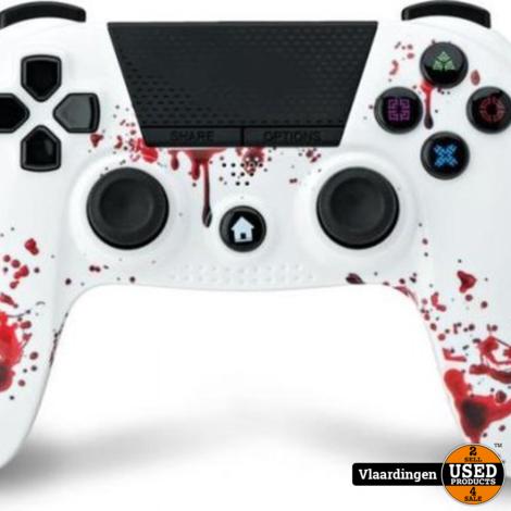 Under Control - PS4 bluetooth controller met koptelefoon aansluiting - Zombie - Nieuw - Met garantie -