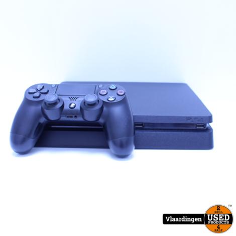 Sony Playstation 4 Slim 500GB  - In goede staat - Met Garantie -