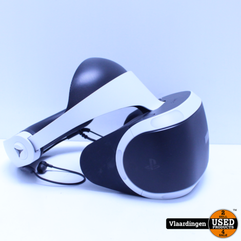 Sony Playstation VR Headset - Incl Camera - in Doos - In goede staat -