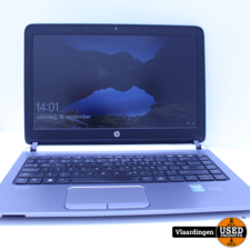 HP HP Probook 430 G2 - Windows 10 - 4GB - 128GB SSD - klein vlekje op scherm -