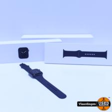 Apple Watch Apple Watch Series 5 44mm Space Gray | Compleet in doos - In zeer goede staat - Met Garantie -