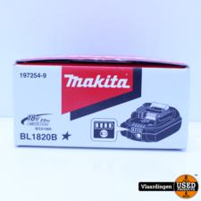 Makita Makita - BL1820B - 18V - Li-on - accu - 2.0 Ah - Nieuw in Doos -