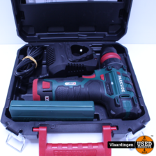 PARKSIDE® Accu-schroefboormachine 12V met accu en lader - boren/bitset  - Nieuw in koffer -