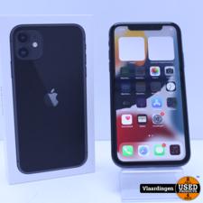 iPhone 11 64GB Zwart - In goede staat - Met Garantie -