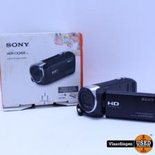 Sony Sony HDR-CX240EB Full-HD Videocamera Zwart - In goede staat -  Compleet in doos - Met Garantie