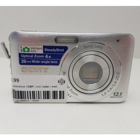 Sony Cybershot 12MP | incl lader | met Garantie