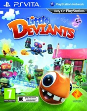 PS Vita Game: Little Deviants