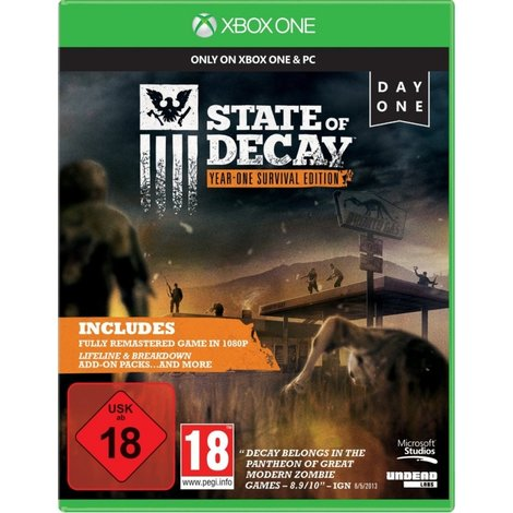 Xbox One Game: State of Decay