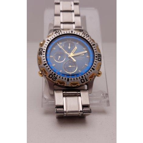 Citizen Alarm chronograph WR100 6850-G81155 | met Garantie