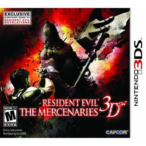 Nintendo 3DS Game: Resident Evil 3D
