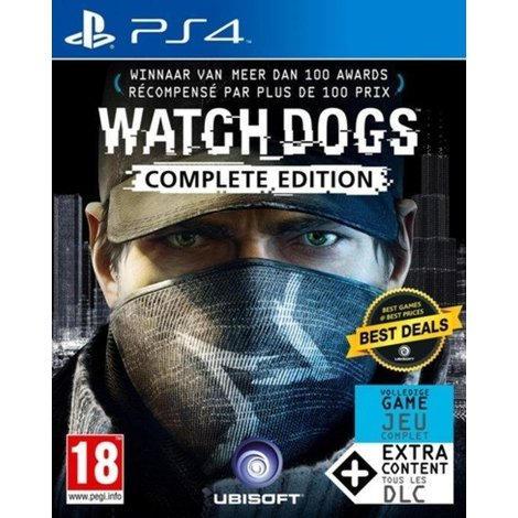 Playstation 4 Game PS4: Watchdogs