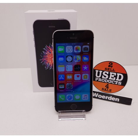iPhone SE 64GB Space Gray |Touch ID defect | met Garantie