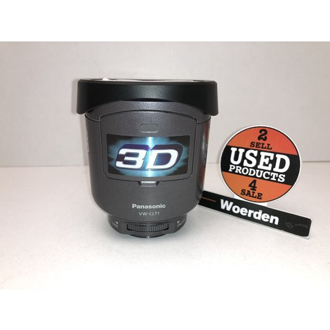 Panasonic VW-CLT1 3D Lens   in Nette Staat   met Garantie