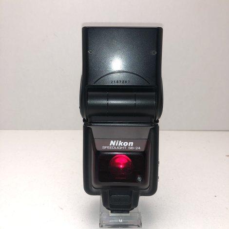 Nikon SB-24 Flitser   in Nette Staat   met Garantie