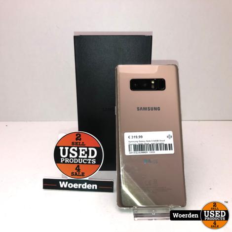 Samsung Galaxy Note 8 64GB Goud Duosim | Nette Staat | met Garantie