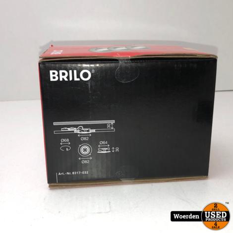 Briloner Verstelbare Inbouwspots Dimbaar 3x5,5W Zwart NIEUW