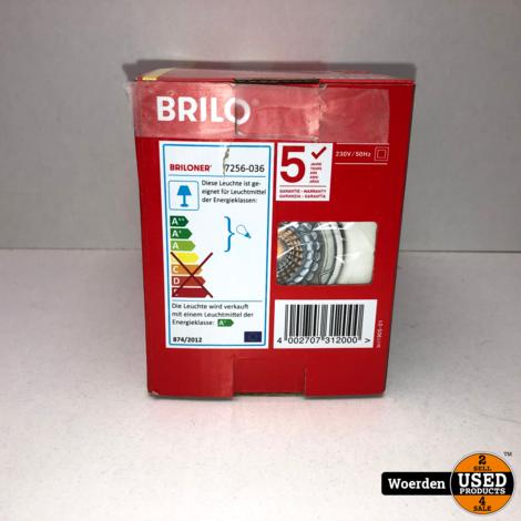 Briloner LED 3x Inbouwspot set 7256 Ø 86 mm Wit NIEUW met Garantie