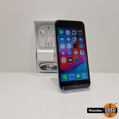 iPhone 6S 64GB Space Gray Nette Staat met Garantie