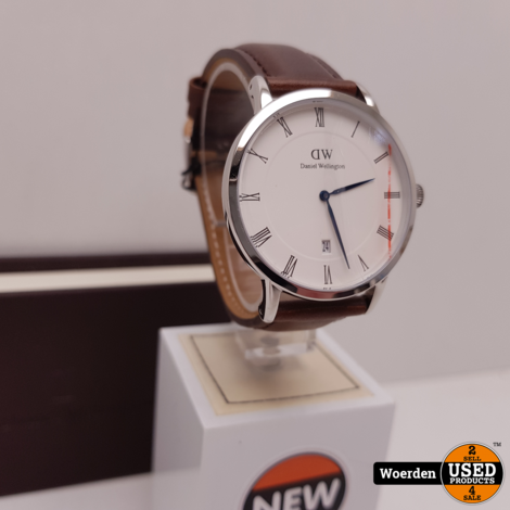 Daniel Wellington Horloge Bruin Leer | Nieuw | met Garantie