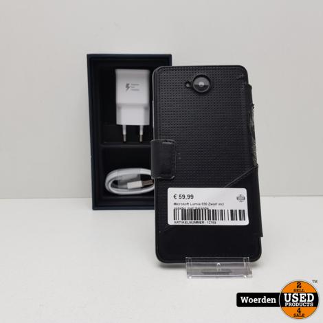 Microsoft Lumia 650 Zwart incl oplader met Garantie