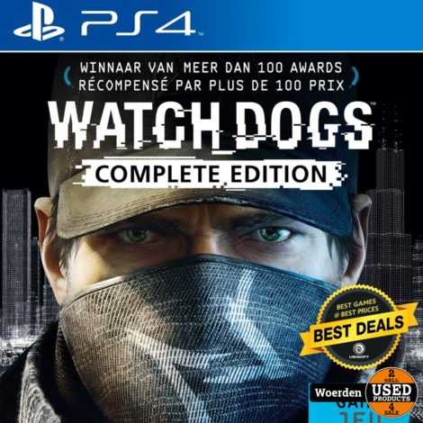 Playstation 4 PS4 Game:Watchdogs